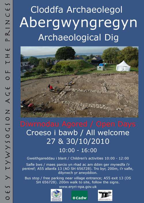 Abergwyngregyn Open Days
